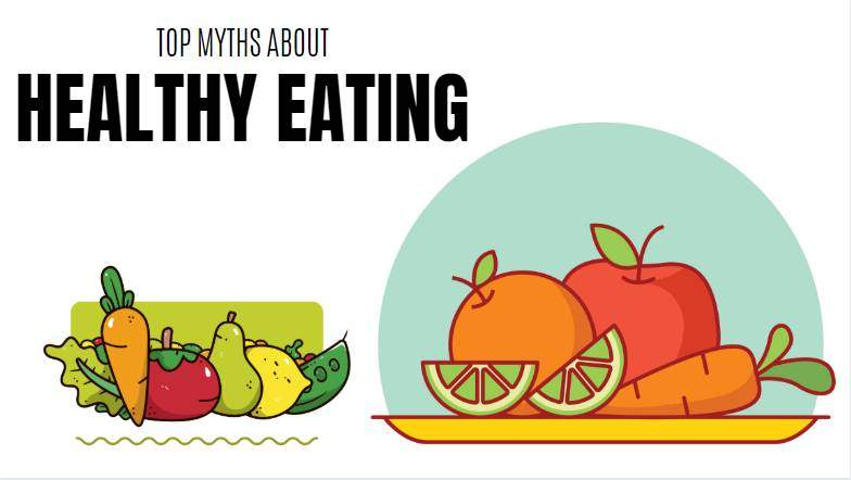 myths about healthy eating